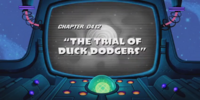 The Trial of Duck Dodgers