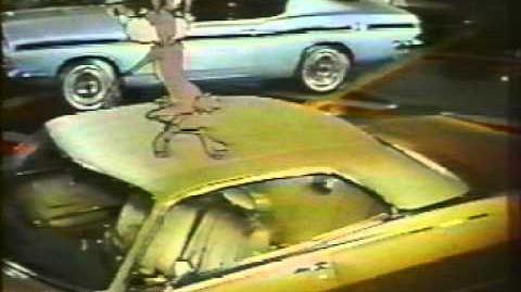 "1969 Plymouth Commercial ""Wile E. Coyote & Roadrunner"""