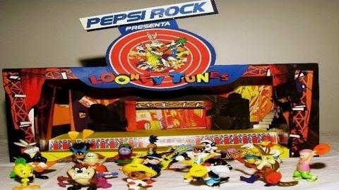 Coleccion Looney Tunes Pepsi Rock