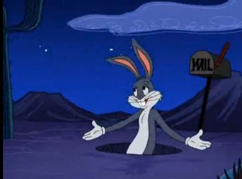 File:Bugs bunny coming out of his hole.jpg