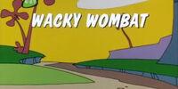 Wacky Wombat
