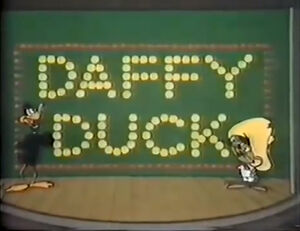 Lt the daffy duck show title card