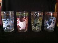 LT Jelly Jar Glasses 1974