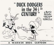 Duck Dodgers Lobby Card