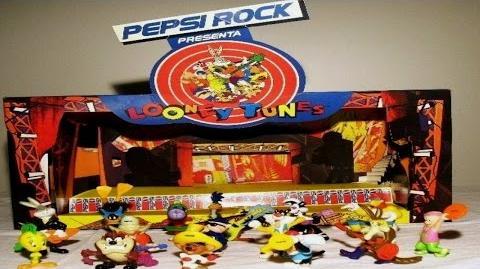 Banda Pepsi Rock de los Looney Tunes Comercial de Tv 1995