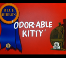 Odor-able Kitty