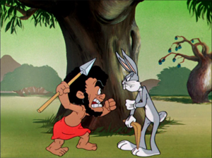 Bugs and Nature boy Argue Remastered