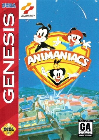 File:Animaniacs Sega Genesis Box Art.jpg