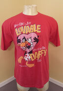 Vintage Daffy Duck 1980's t-shirt (XL)