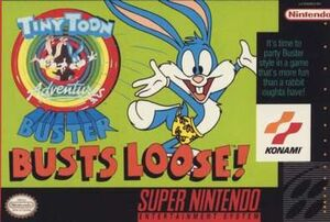 Buster Busts Loose box art