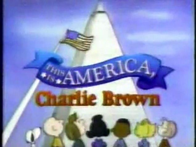 Bugs Bunny's Bustin' Out All Over This Is America, Charlie Brown (1988) CBS Promo (1989)