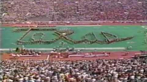 1990 Longhorn Band halftime, Looney Tunes