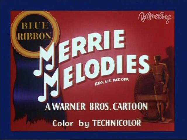 Merrie Melodies - Peck up your troubles