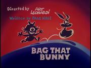 Bag That Bunny