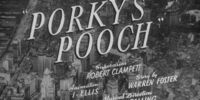 Porky's Pooch