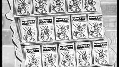 Kool-Aid Commercial 1960's Bugs Bunny Elmer Fudd - new pre-sweetened