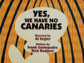 Yes We Have No Canaries
