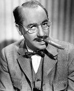 Groucho Marx portrait