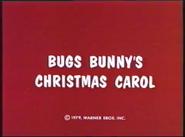 Bugs Bunny's Christmas Carol title card
