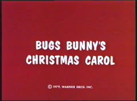 File:Bugs Bunny's Christmas Carol title card.png