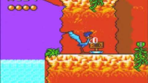 Desert Speedtrap (Sega GameGear) - Walkthrough - Level 5 - Bird in the Bush
