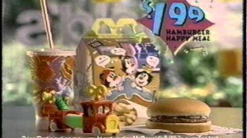 Happy Meal Animaniacs