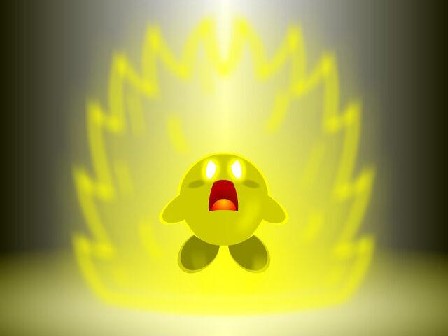 File:Super Saiyan Kirby by Squirrel245.jpg