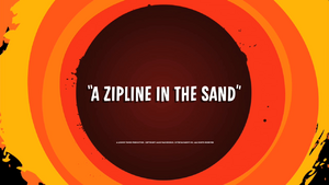 A Zipline in the Sand