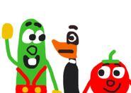 Looney Tunes VeggieTales parody