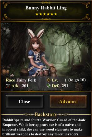 Card - Bunny Rabbit Ling