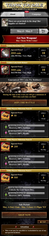 Milestone 550k-Campaign-1