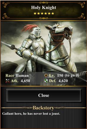 Card - Holy Knight-max