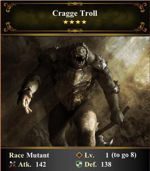 Card - Cragge Troll