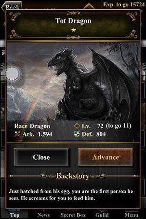 Tot Dragon