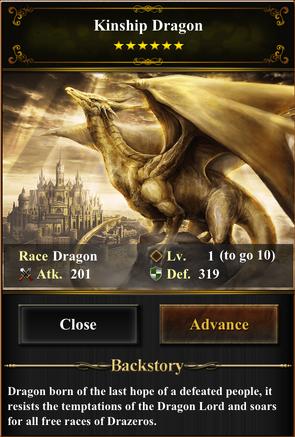 Card - Kinship Dragon