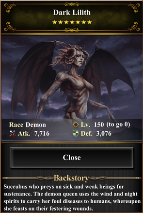 Card - Dark Lilith-max