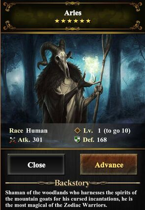 Card - Aries Level 1 (image)