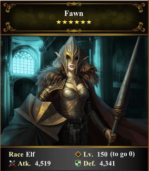 Card - Fawn