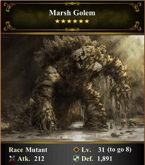 Card - Marsh Golem