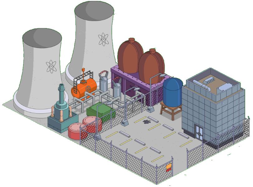 Springfield Nuclear Power Plant  Simpson Wiki en Espaol  FANDOM