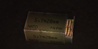 5.7x28mm SS190 Rounds
