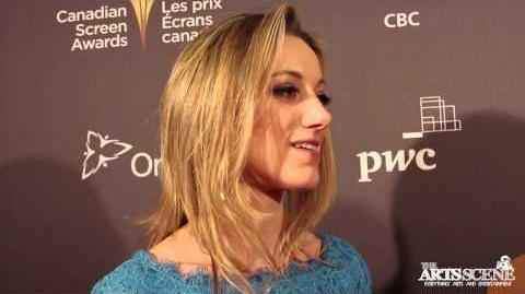Zoie Palmer at Canadian Screen Awards (2013)