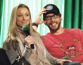 Emerald City Comic Con 2014 (Zoie Palmer, Kris Holden-Ried)