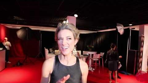 Zoie Palmer @ 2014 Canadian Screen Awards