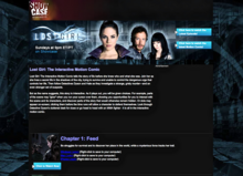 Lost Girl-Showcase lostgirlseries 2010 - Interactive Motion Comic page