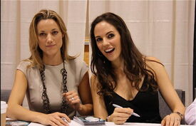 Zoie Palmer and Anna Silk (2011 Fan Expo)