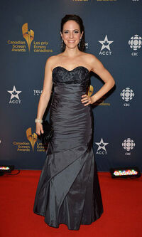 Anna Silk (Canadian Screen Awards 2014)