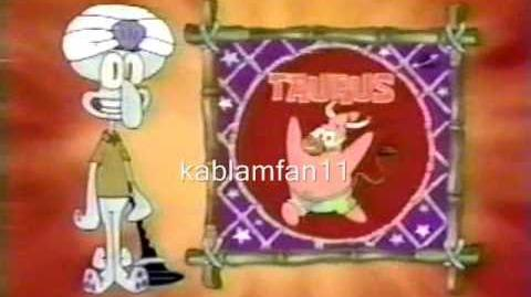 Astrology With Squidward - Tarus (English Version)