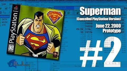 (Part 2) Superman -Unreleased PlayStation version- - June 22, 2000 Prototype