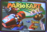 Mario kart xxl title screen